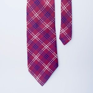 Nautica Mens Tie burgundy Tie